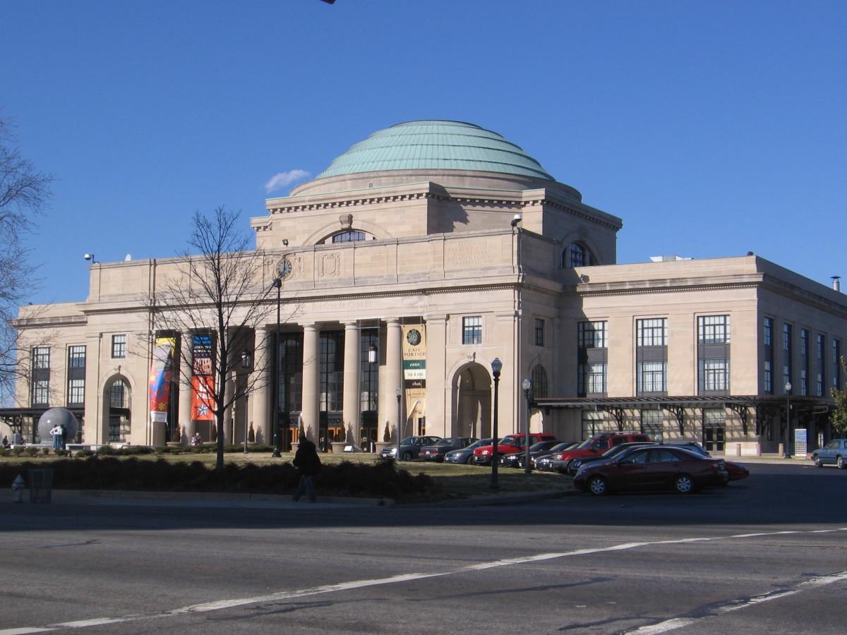 John Russell Pope, Main Street Station, Richmond, Virginia