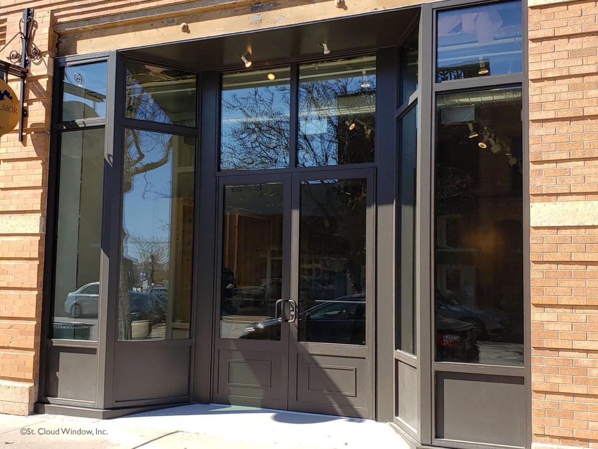 Storefront Entrance Door System, St. Cloud Window