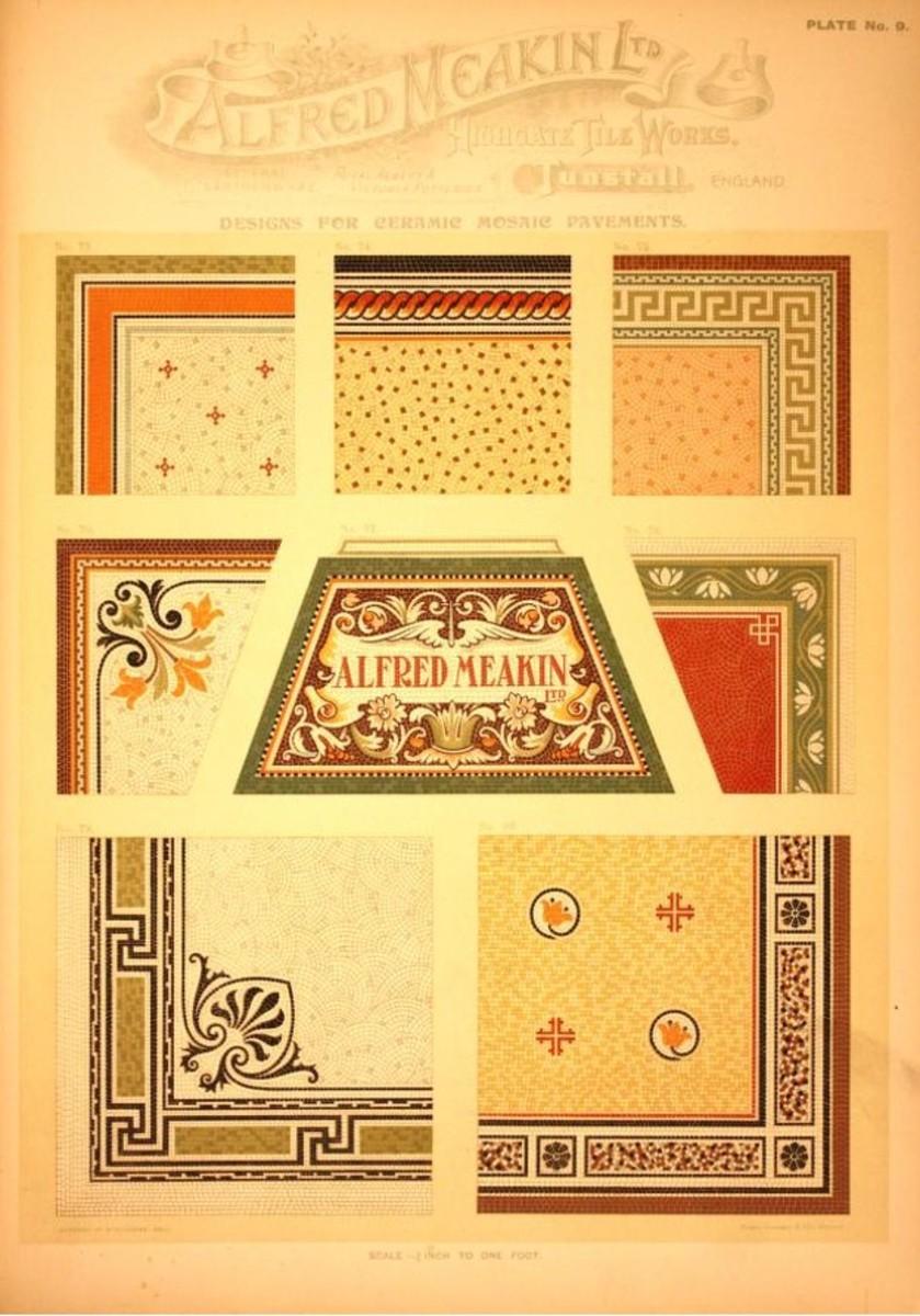 Alfred Meakin, Ltd, Highgate Tile Works, c. 1870