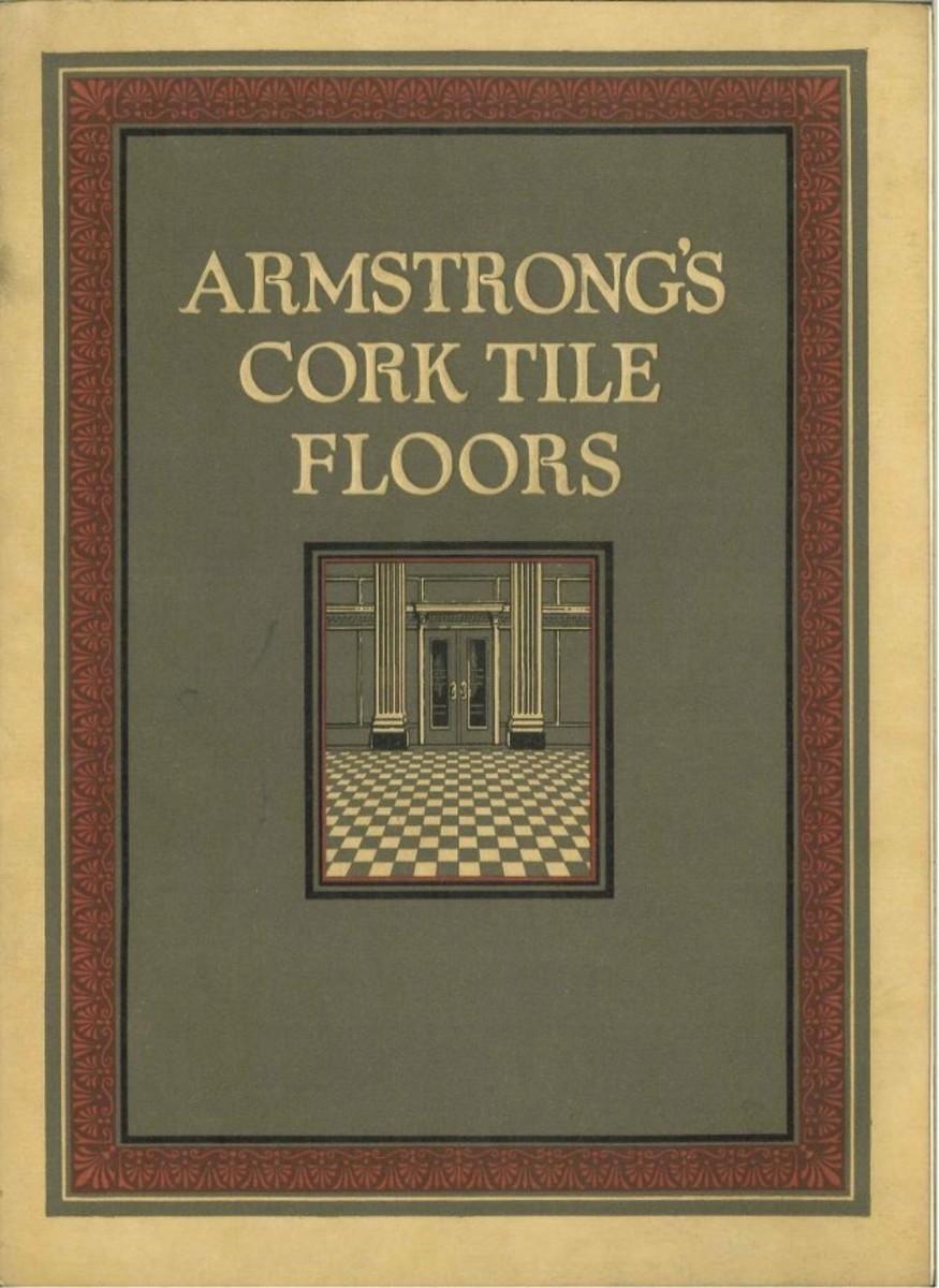 Armstong's cork tile floors, 1924