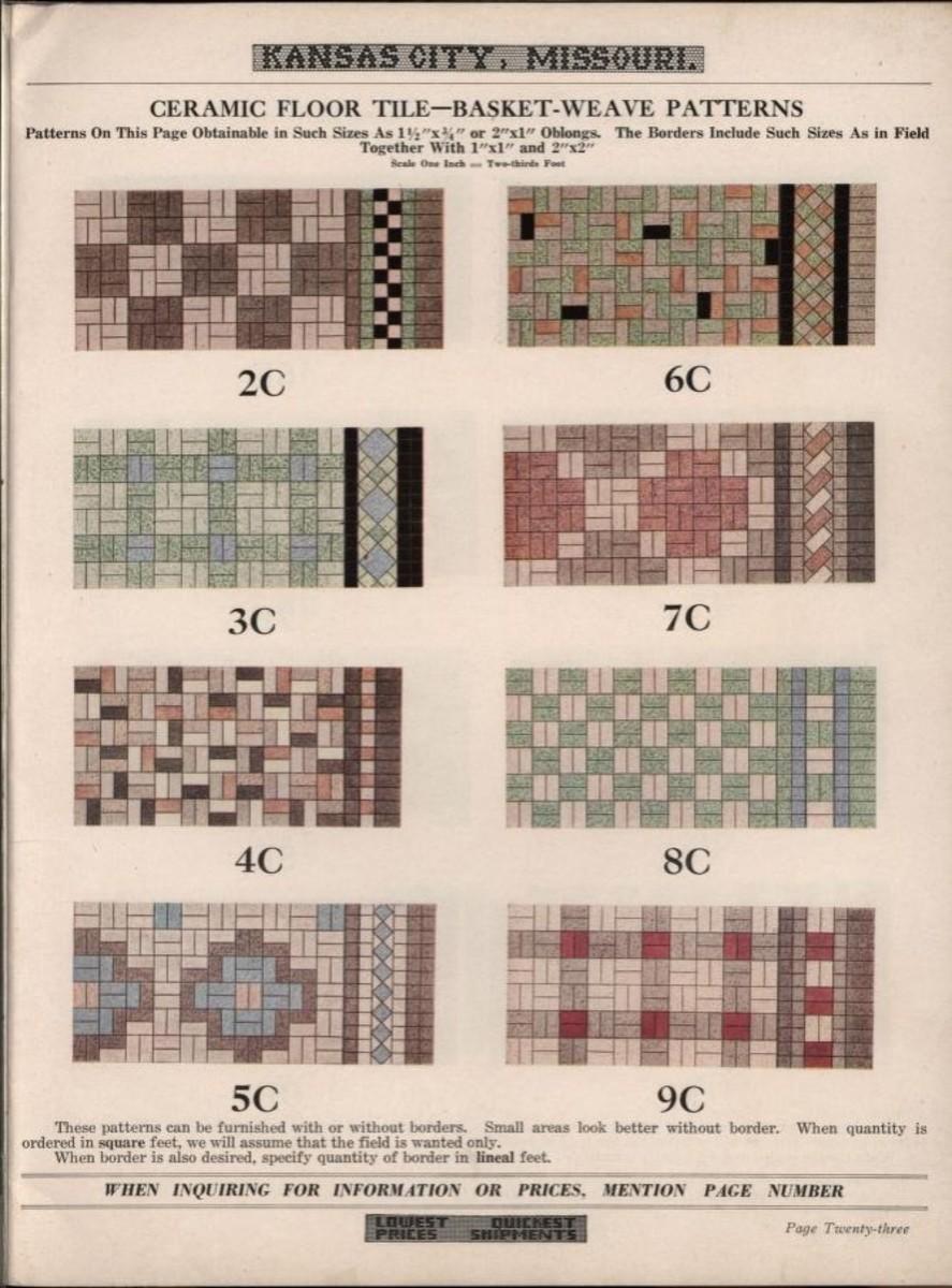 Catalog no 32 Lloyd floor and wall tile company, 1932