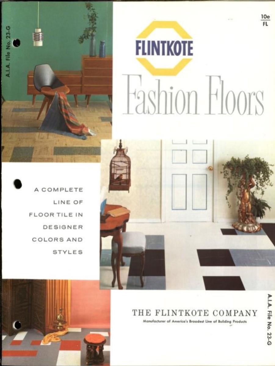 Flintkote fashion floors, 1961