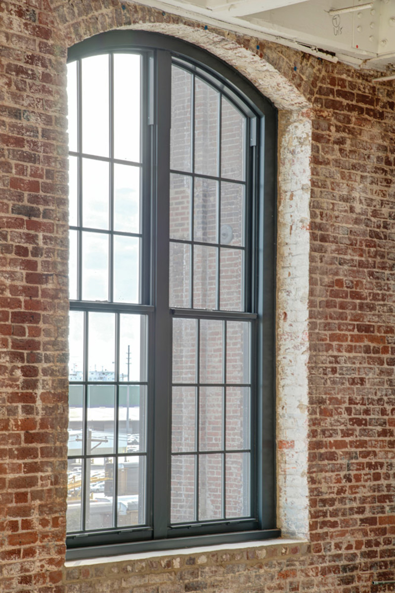 metal window, Cigar Factory, Graham Architectural Products
