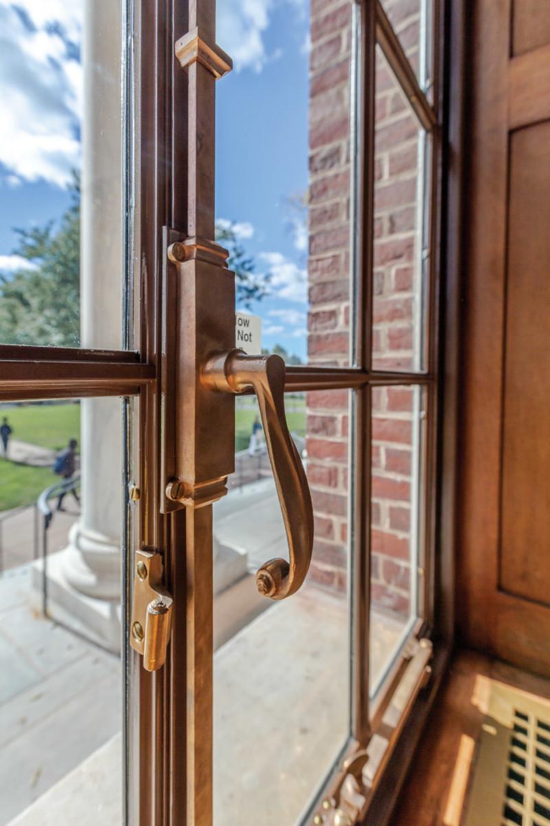 restored metal windows