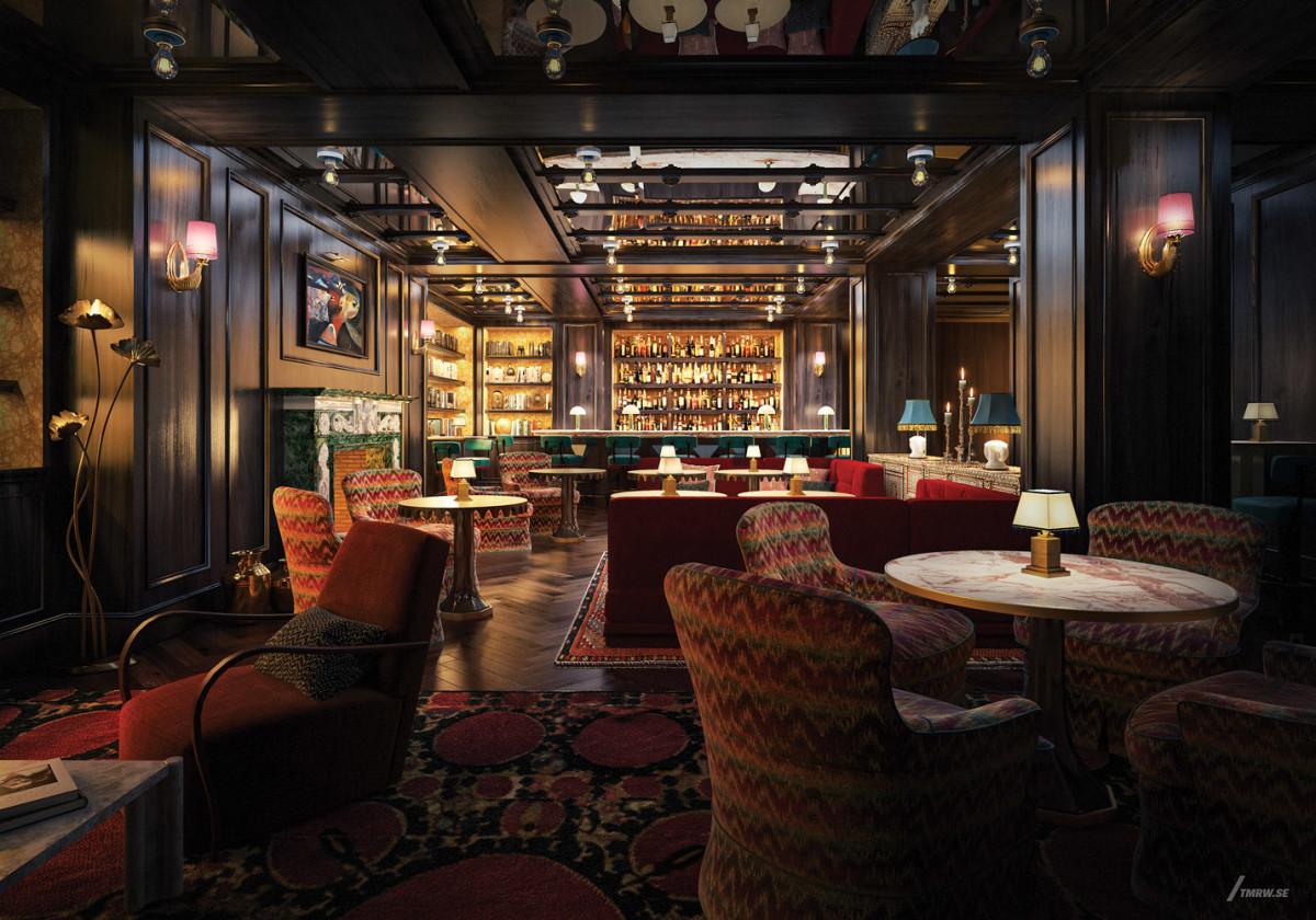 The Fifth Avenue Hotel, Martin Brudnizki Design Studio