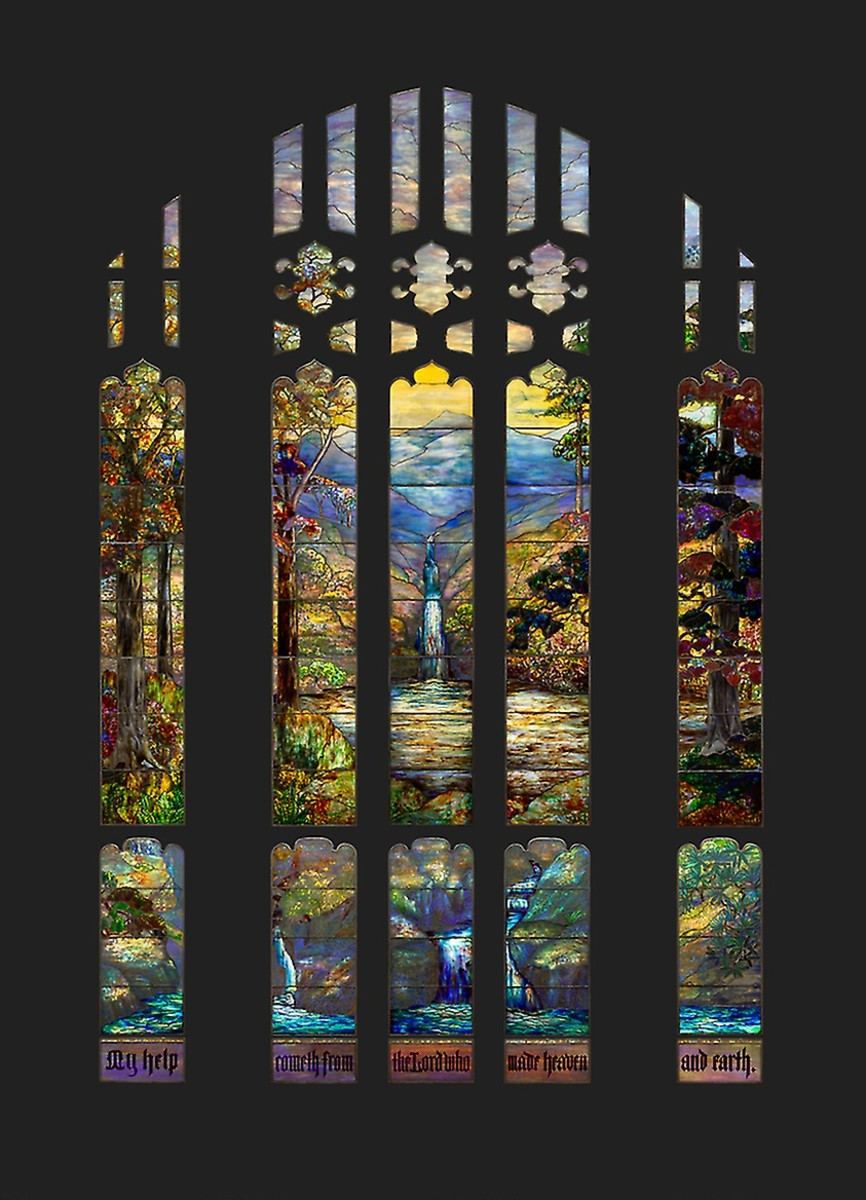 Stained-glass, Hartwell Memorial Window