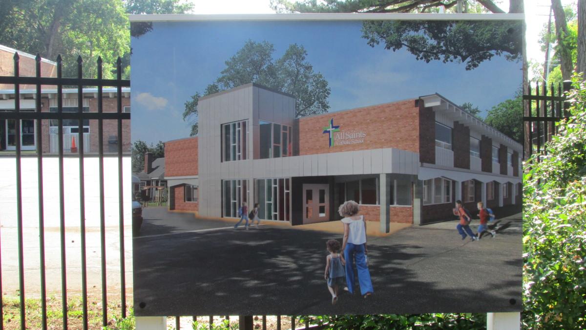 New parochial school, Richmond