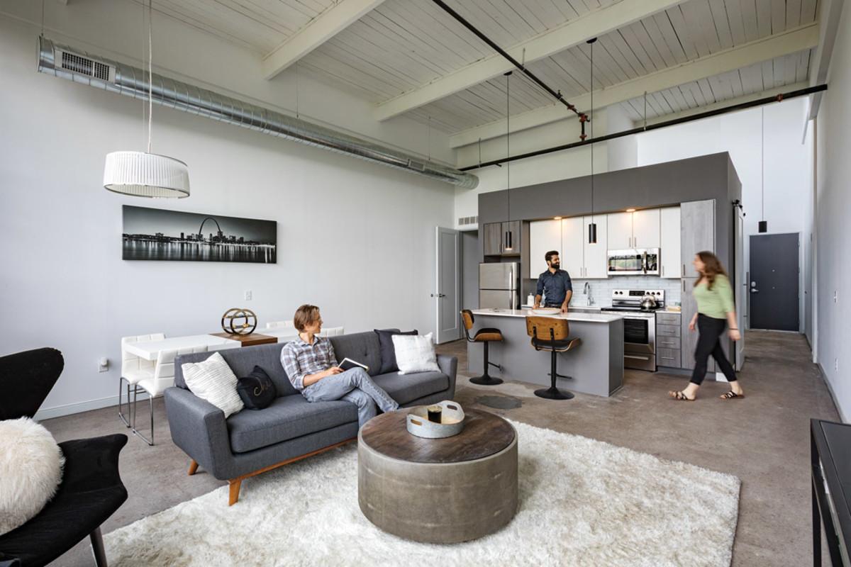 Woodward Lofts kitchen