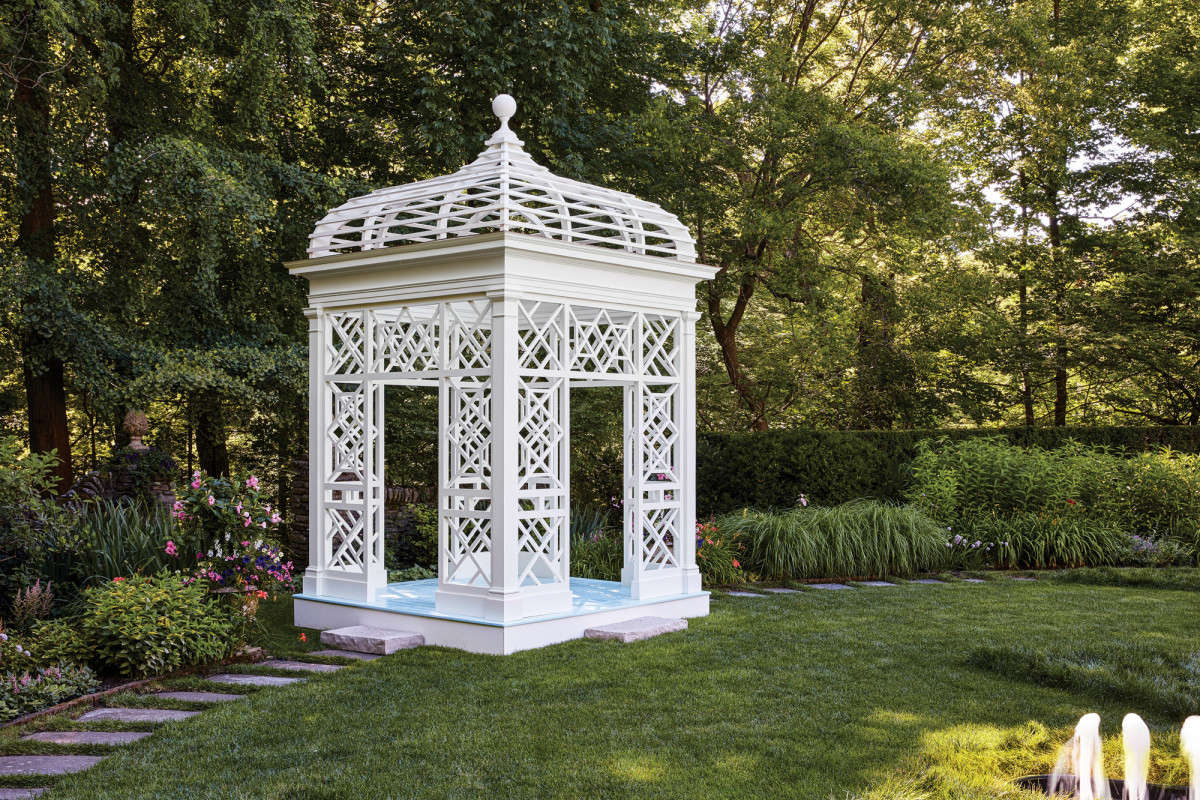 Lake Forest Showhouse Garden Folly