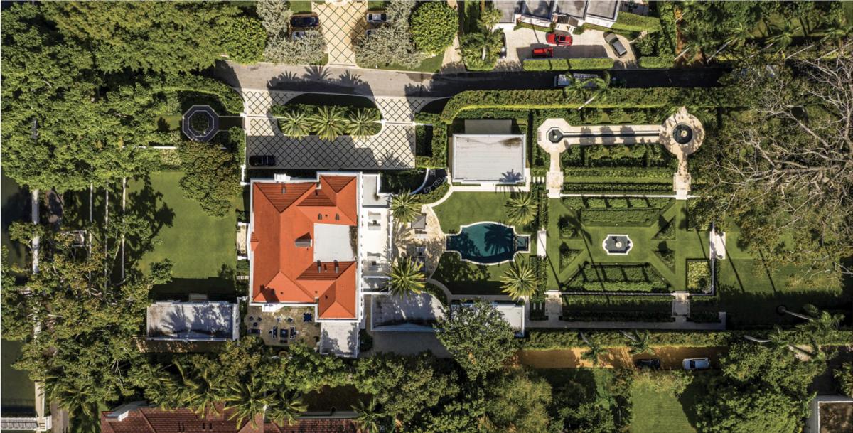 Aerial view John Volk Estate