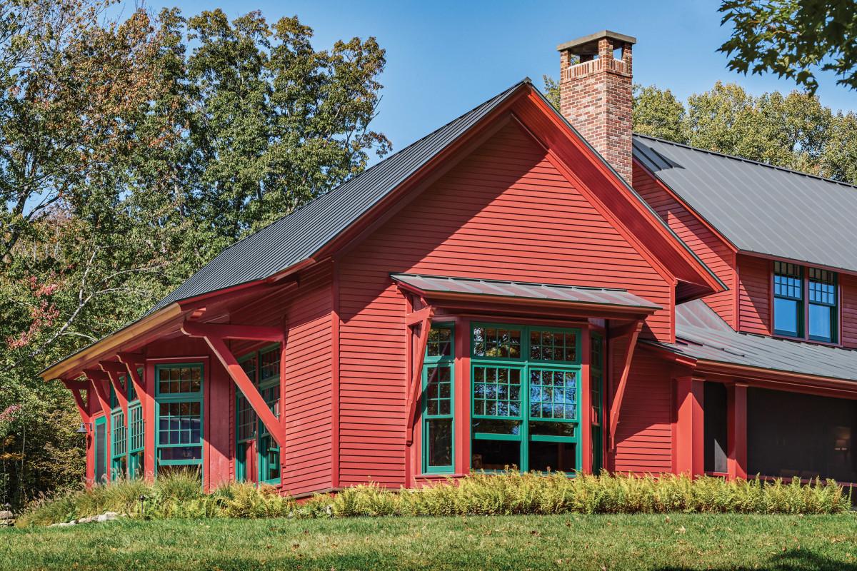 Pond Farm exterior, Albert Righter & Tittman, 2021 Palladio Award