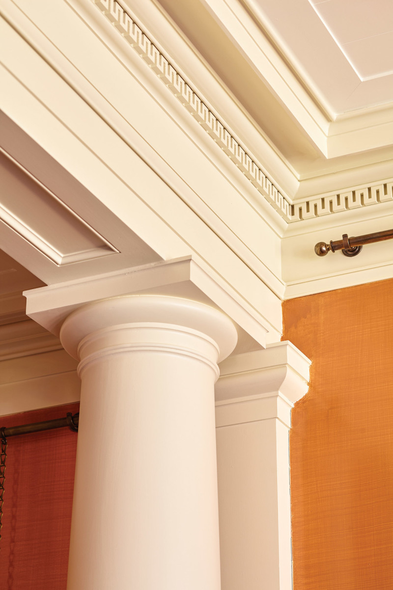 Federal and Greek moulding