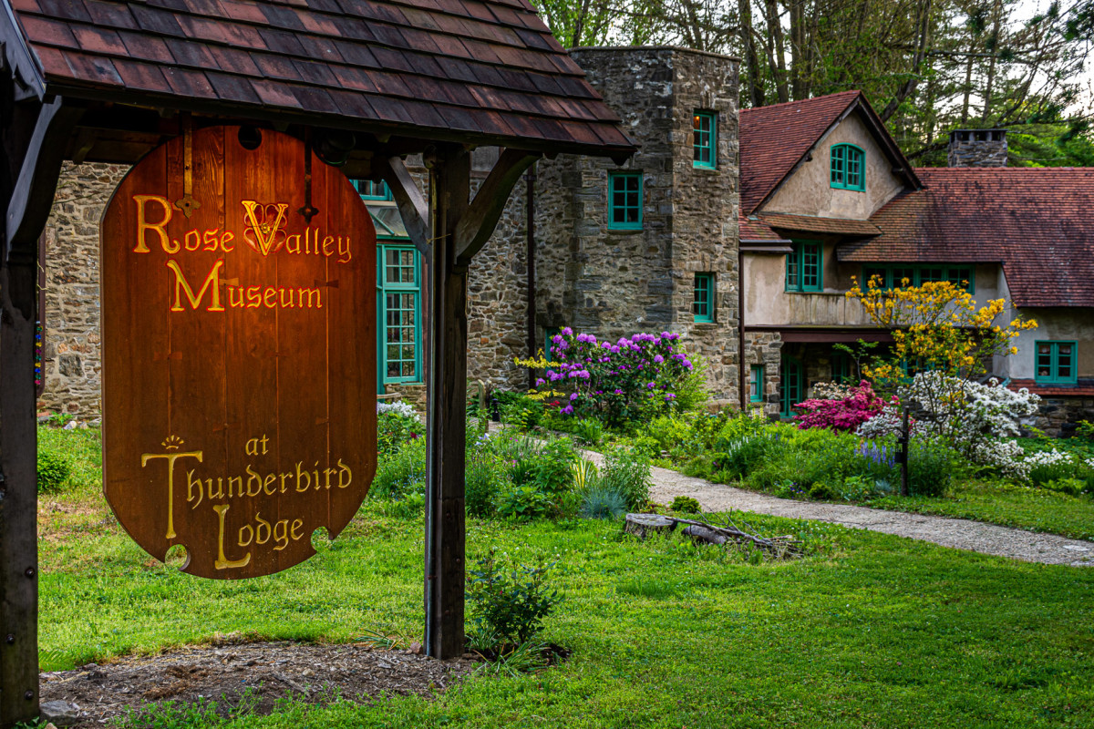 The Rose Valley Museum at Thunderbird Lodge.