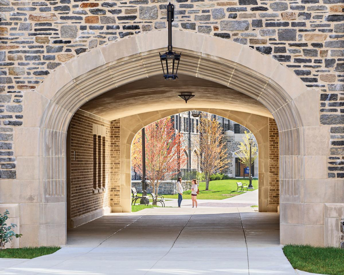 arched passageway