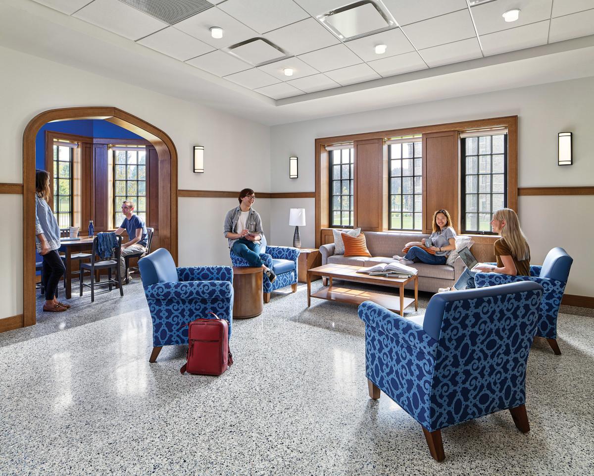 student lounges, Villanova