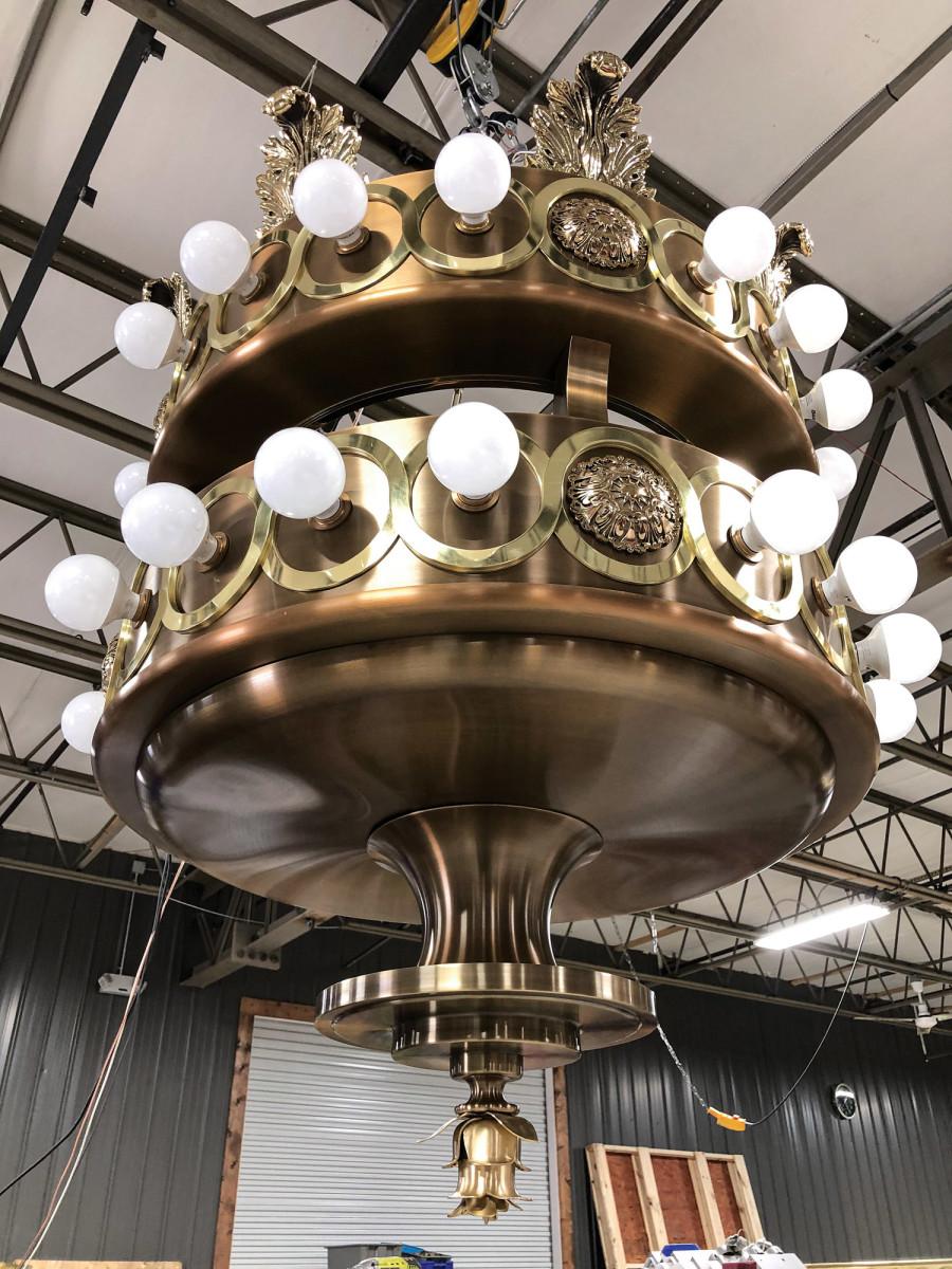 G-40 LED lamps, Belmont University's new Performing Arts Center