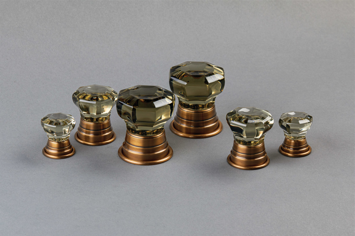 crystal knobs, E.R. Butler Company