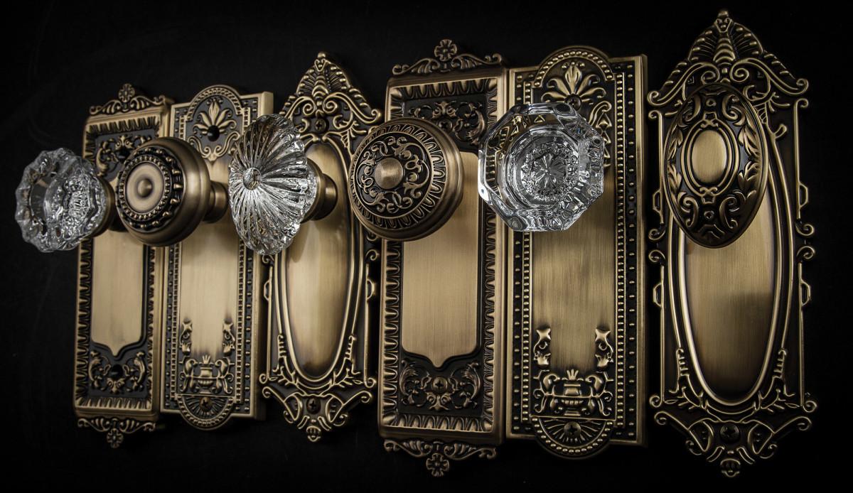 GRANDEUR vintage revival doorknobs