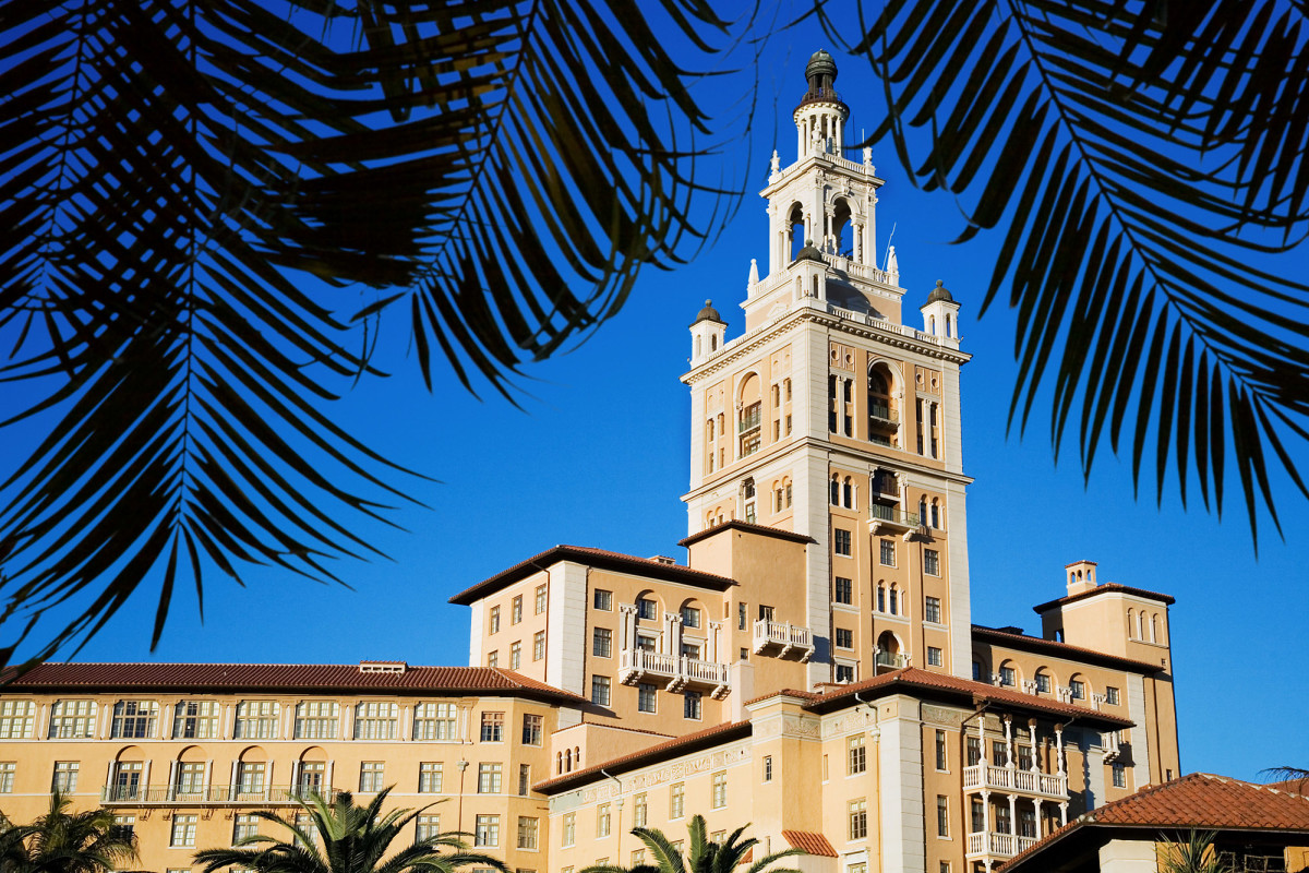 The Biltmore Hotel in Coral Gables, Florida.