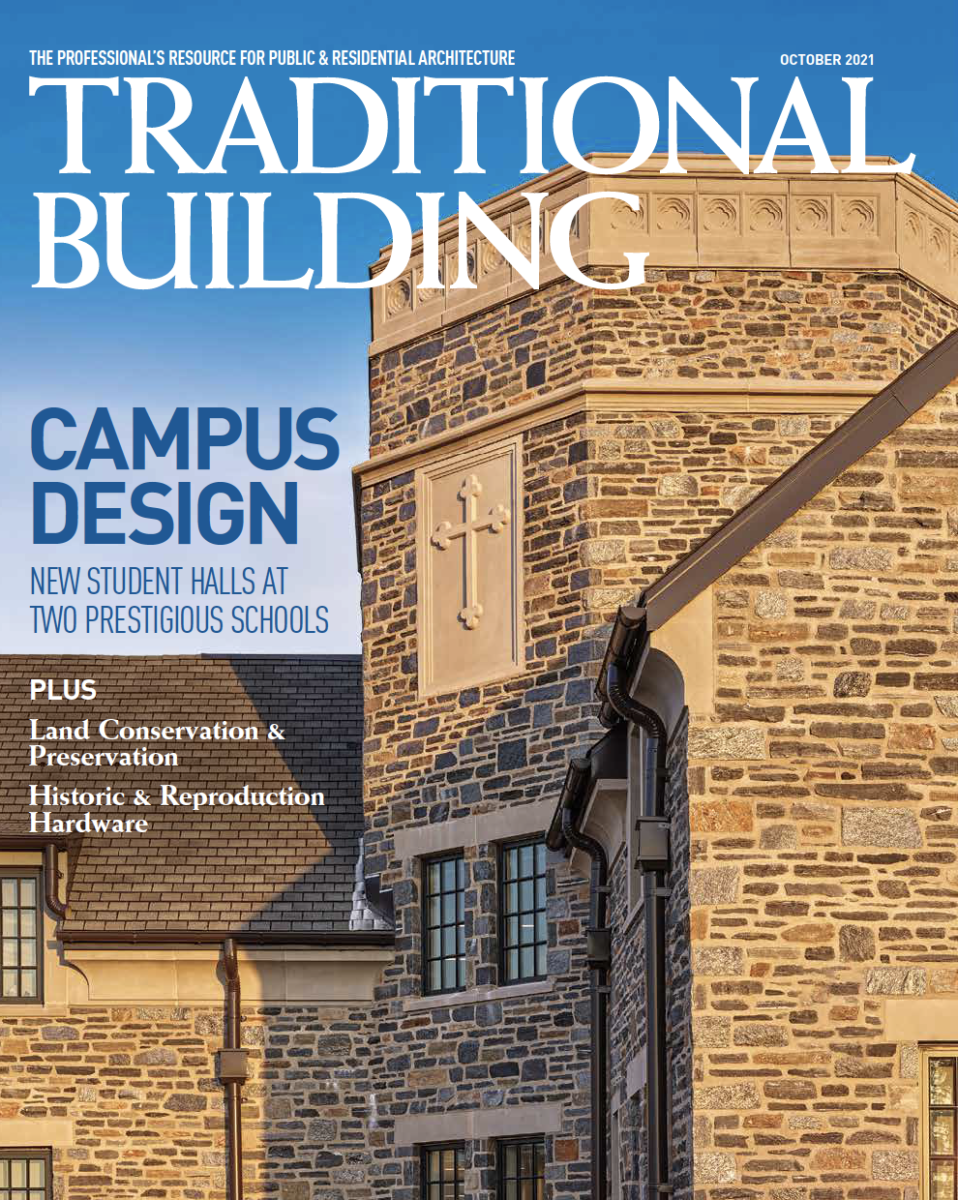 Traditional Building Magazine, October 2021