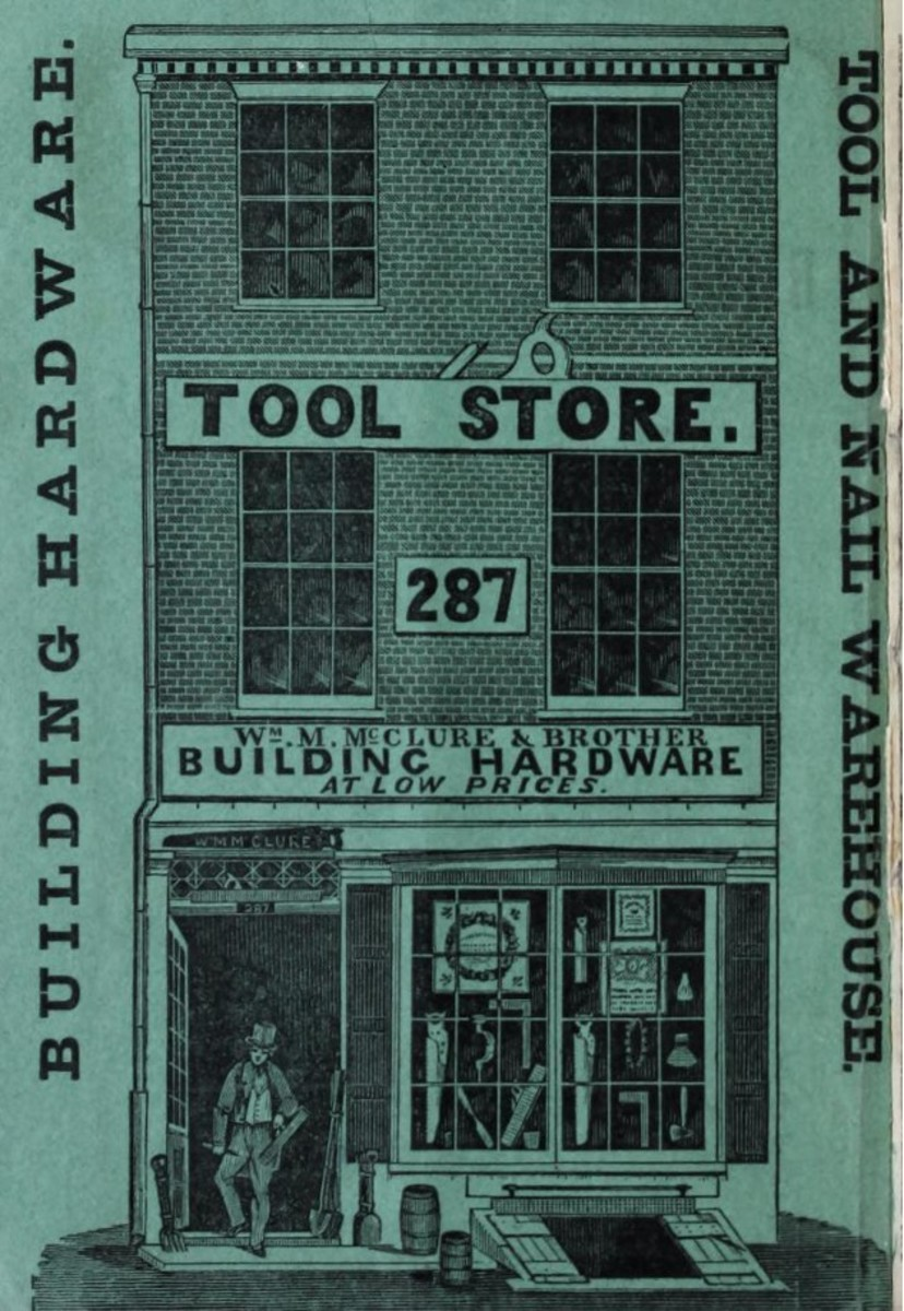 Catalogue of building hardware and tools. 1860