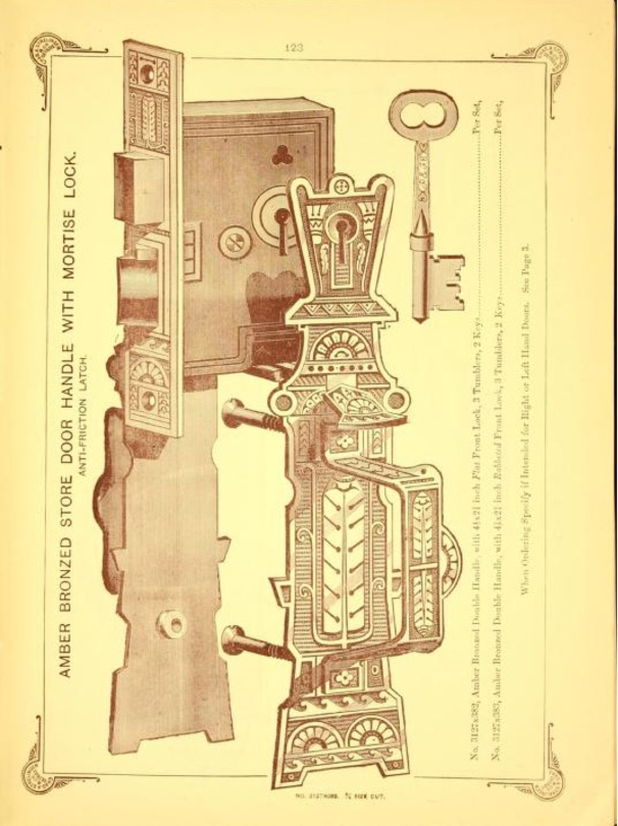 Illustrated catalog of builders' hardware: no. 3., c. 1880