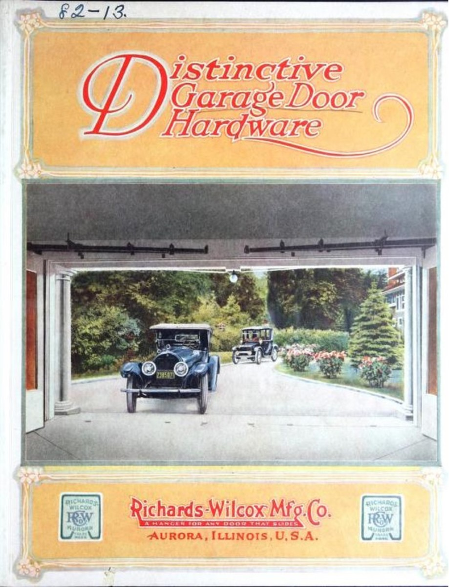 Distinctive garage door hardware: catalog no. 35., 1924.